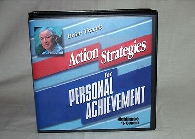 BRIAN TRACY - ACTION STRATEGIES FOR PERSONAL ACHIEVEMENT - 24 CDs - MSRP $210.00