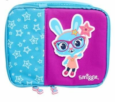 BNWT Smiggle Yay Square Double Lunchbox with handle brand new