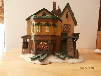Dept 56 Dickens Village Series, The Grapes Inn 5th Edition 1996 57534 Retired