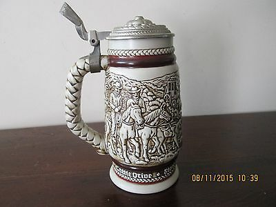 Avon Western Round-Up Ceramic Stein - 1980
