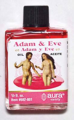 Adam & Eve Love Oil for Anointing Romantic Attraction Spells Hoodoo Rituals