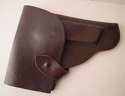 Vintage retro Collectible Genuine Leather Police Russian Well Preserved Holster
