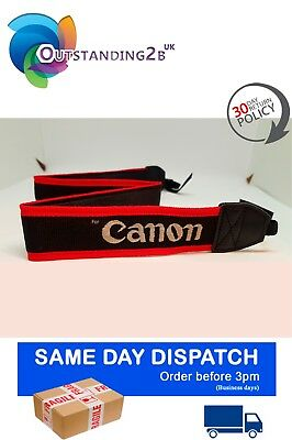 Neck Shoulder Strap for DSLR Canon EOS 5D Mark II 7D/5D/60D/50D/600D/550D/500D