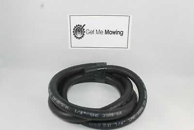"5 ft. Roll of 1/4"" ID Fuel Line Small Engine Lawn Mower Tractor Automotive J30R6"