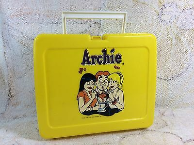 Archie Lunchbox Plastic Betty And Veronica 1990 Archie Comic Publications