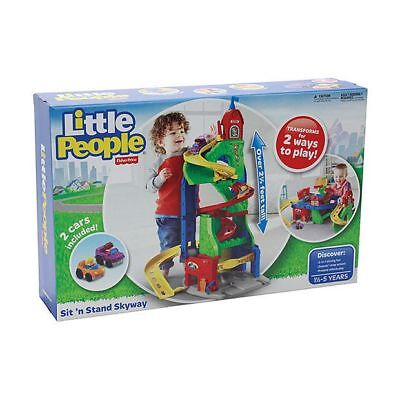 NEW Fisher-Price Little People Sit N' Stand Skyway