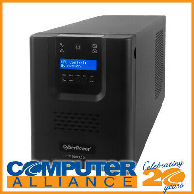 1500VA CyberPower PRO Series Tower UPS with LCD PN PR1500ELCD