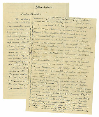 Albert Einstein Letter Signed re United Field Theory Unite Theory of Relativity