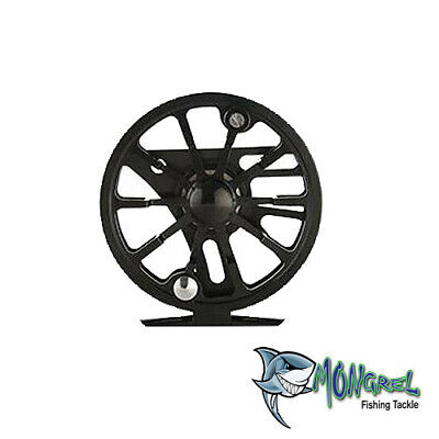 NEW  Fly Fishing Reel Trout Fishing Fly reel 5/6 85 mm Diammeter Black