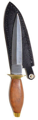 """9"""" Wood Handle Knife Dagger Ritual Athame with 5"""" Stainless Steel Blade"""