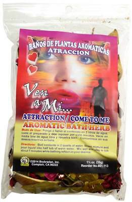 1-1/4oz Attraction Atraccion aromatic bath herb ritual spells Magick Wicca Pagan