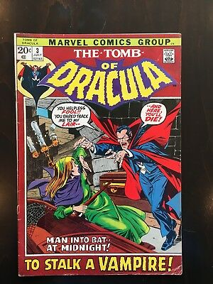 Tomb of Dracula #3 and 5 and Frankenstein Monster 8, 14, 15