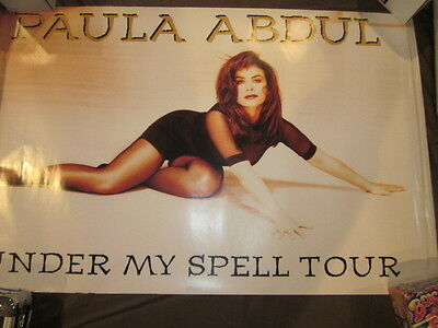 Paula Abdula Under My Spell Tour  35 x 23 Poster  #10