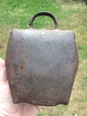 Vintage Rare Early Large C Anderson Condamine Bull Frog Bullock Bell