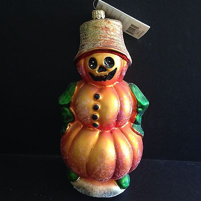 Vintage Christopher Radko Halloween Christmas Ornament LG LEADER OF THE PATCH 8""