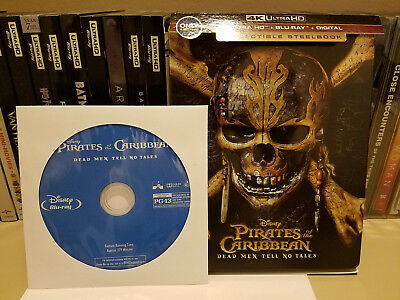 Pirates of the Caribbean: Dead Men Tell No Tales **Blu-ray disc only**   From 4K
