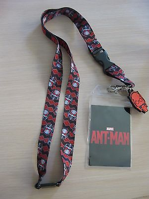 Disney Ant Man Lanyard with Clear ID Pocket Badge holder