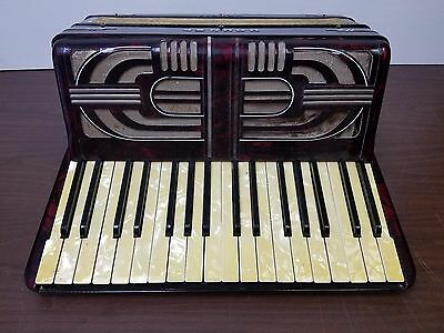 Vintage Hohner Verdi I 34/48 Piano Accordion