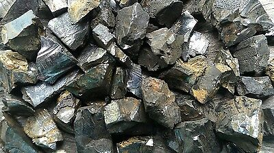 10 gram Bag of Elite Shungite Rough Crystal Chips - Miracle Healing Stone