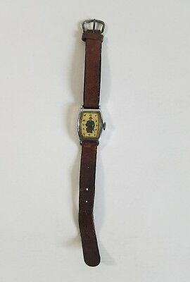 Dick Tracy 1940's New Haven Wrist Watch Vintage Detective