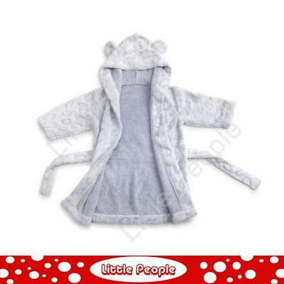 Nat And Jules  Dressing Gown  Blue Plush Toy