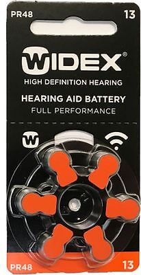 widex Hearing Aid Batteries size 13 (10 cards)