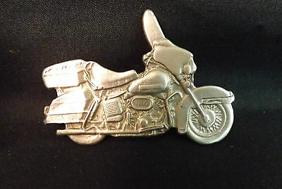 Harley Cruiser Lapel Pin. Has a Pewter Look.