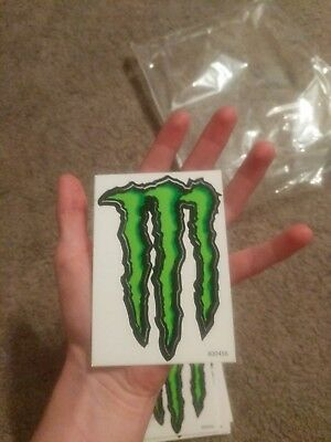 small Monster Energy decal sticker