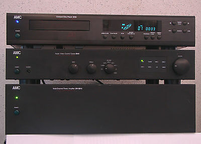 AMC Power Amp 2N100-2 + Preamp AV81