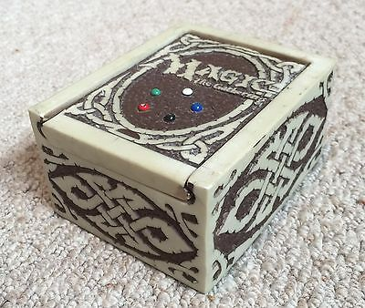 Resin / Ceramic Magic: The Gathering Deck Box - 1995, Official Wizards Product