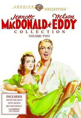 Jeanette MacDonald & Nelson Eddy Collection, Volume 2 (4-Disc) NEW DVD