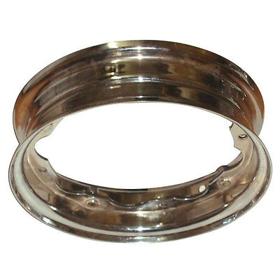 Brand New Standard Lambretta Wheel Rim Chromed For Lambretta All  Models