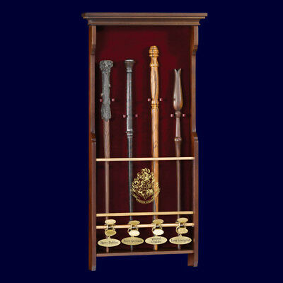 Harry Potter Four Character Wand Display By Noble Collection