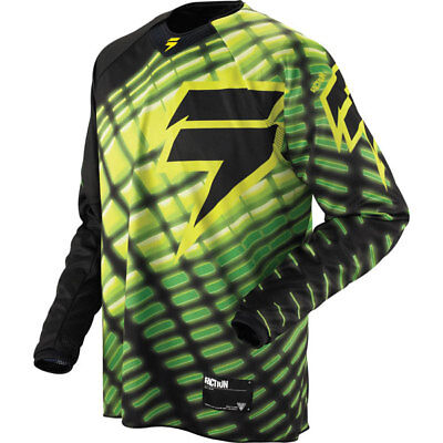 Shift Faction Arcade Motocross Jersey Top Bmx Mtb Atv Offroad Clothing Black