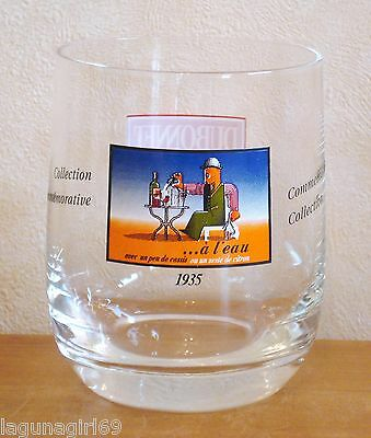 Dubonnet a l'eau Commemorative Collection Spirit Glass Tumbler A M Cassandre