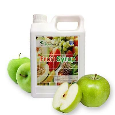 Concentrated Fruit Syrup Many Flavours 2.5kg Drinks, Smoothie, Tea, Frappe