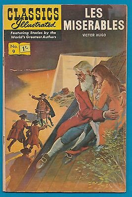 Classics Illustrated Comic 1963 Les Miserables by Victor Hugo #885