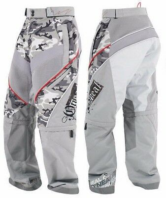 Oneal A-10 Grey Camo Motocross Trousers Pants Bottoms Adults Sizes 28 30 38 Inch