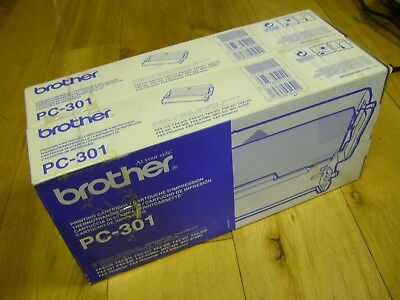 Brother PC-301 Toner / Printing Cartridges x 2 for FAX-770, FAX-910, FAX-920 ...