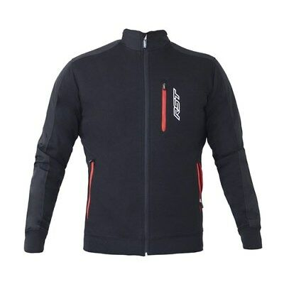 RST Casual Full Zip Technical Mens Black Motorcycle Brands Mid Layer Jacket
