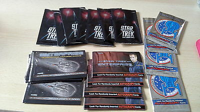 Star Trek Trading Cards.  Job Lot Of Empty Packets