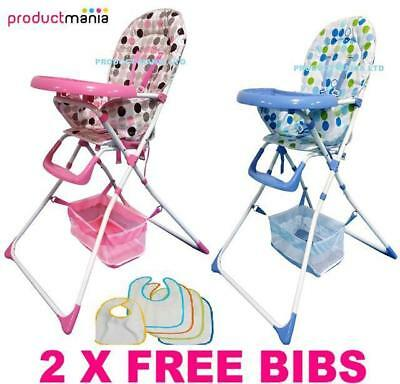 Brand New Baby High Chairs Foldable Highchair Feeding Top Quality 2017 Model