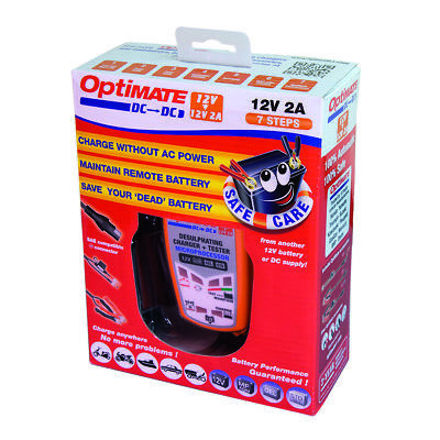 OPTIMATE DC 12v Batterie à Chargeur - pour Motos , Quads, ATV & Jet-Skis