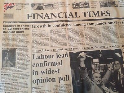 Financial Times newspapers