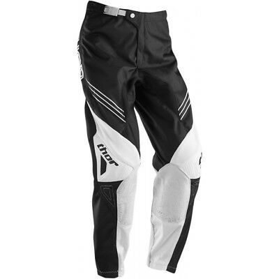 Sale Thor Black & White Hyperion Motocross Adult Pants