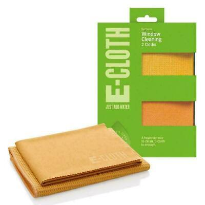 e-Cloth Glass Window Pack 2 Microfibre Cleaning & Polishing Cloths, No Chemicals