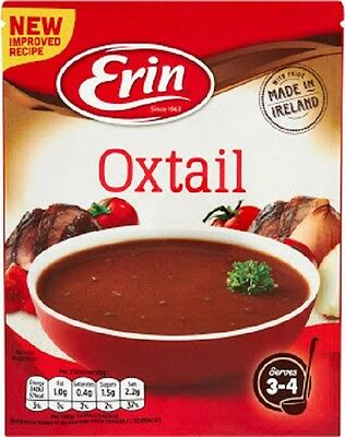 Erin Oxtail Soup 4 x 57g Packets FREE P&P WORLDWIDE