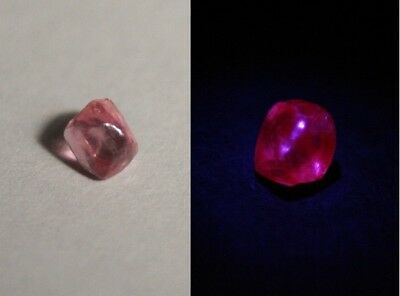 AAA Mahenge Hot Pink Spinel Rough 1ct – Flawless Rare Fluorescent Pink Spinel