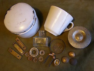Original Ww1 Ww I (1914-18) Military Relics From German Bunkers.