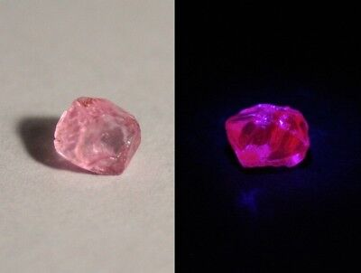AAA Mahenge Hot Pink Spinel Rough 1.5ct – Flawless Rare Fluorescent Pink Spinel